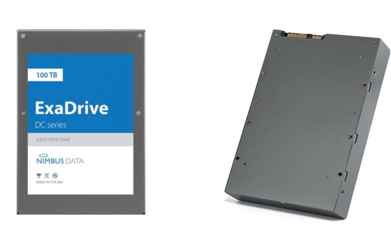 Nimbus Data ExaDrive DC - 100TB SSD SATA