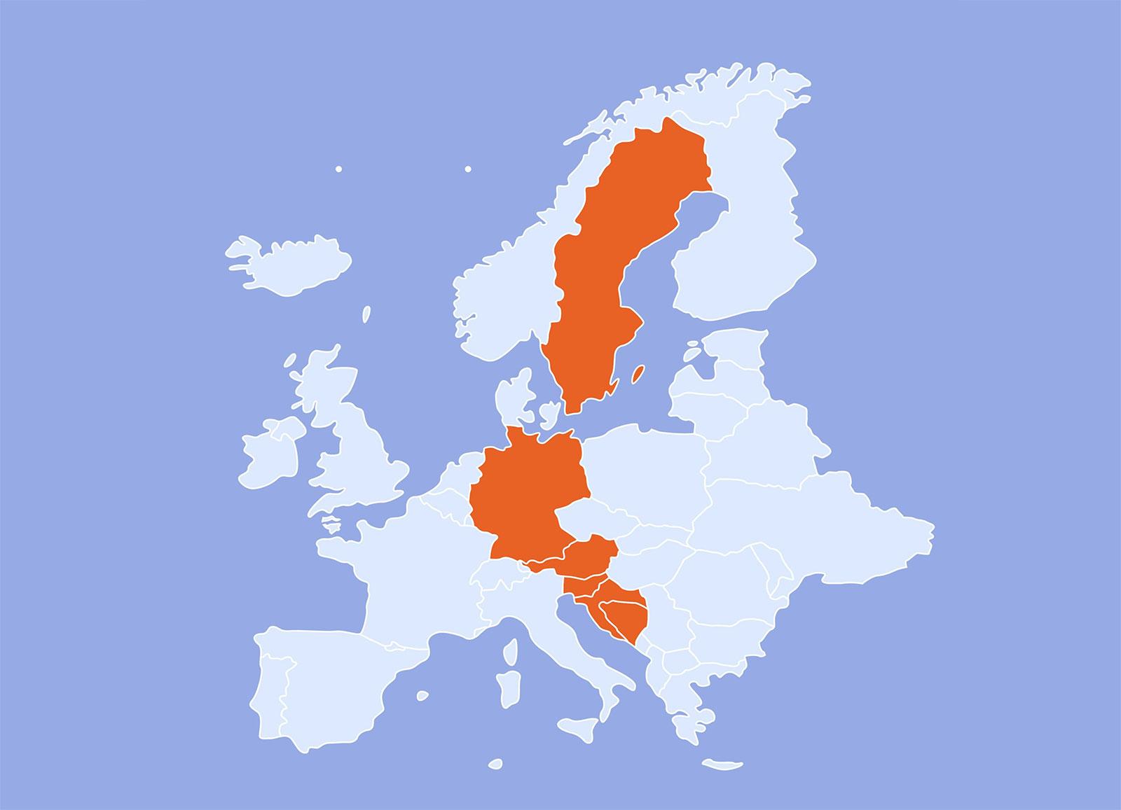 Europe Karte